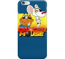 MOUSE IS DANGER iPhone Case/Skin