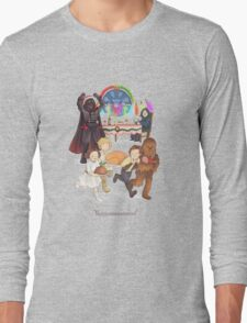 Curse those thieving, silent Jedi Knights (and on Christmas too!) Long Sleeve T-Shirt