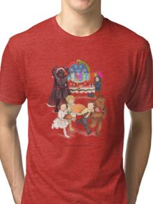 Curse those thieving, silent Jedi Knights (and on Christmas too!) Tri-blend T-Shirt