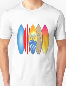 Surfboards T-Shirt
