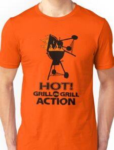 HOT : GRILL on GRILL ACTION Unisex T-Shirt
