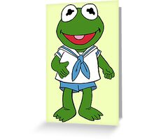Muppet Babies - Kermit Greeting Card