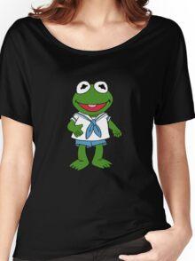 Muppet Babies - Kermit Women's Relaxed Fit T-Shirt
