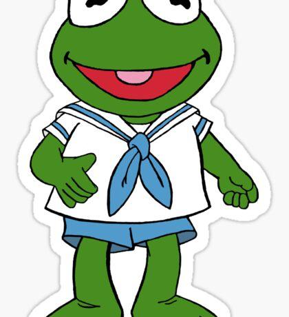 Muppet Babies - Kermit Sticker