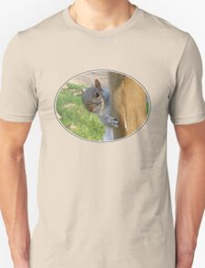 Peek-a-Boo! (Self Portrait in the Eye) Unisex T-Shirt