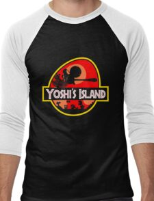 Jurassic Park - Yoshi's Island Men's Baseball ¾ T-Shirt