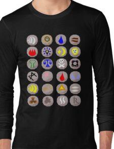 Runes --- Runescape Long Sleeve T-Shirt