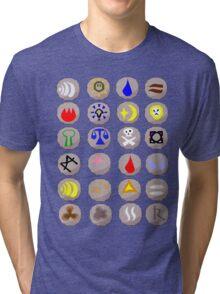 Runes --- Runescape Tri-blend T-Shirt