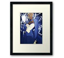 Storm - Fan Art Framed Print
