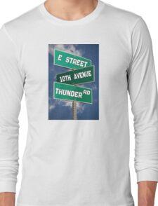 Springsteen Roadmap Long Sleeve T-Shirt