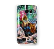 Abstract Proud Rooster Samsung Galaxy Case/Skin