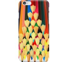 Colored Pencil Pyramid iPhone Case/Skin