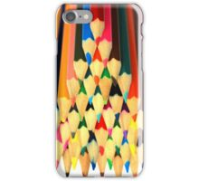 Colored Pencil Pyramid iPhone Case/Skin