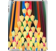 Colored Pencil Pyramid iPad Case/Skin