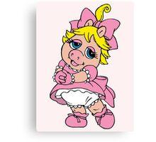 Muppet Babies - Baby Piggie Canvas Print