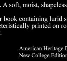 Pulp Fiction: Definition Sticker