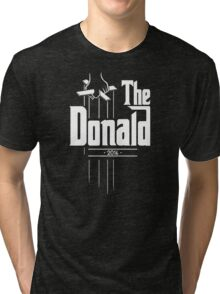 The Donald | Trump Shirt | Funny Political Design Tri-blend T-Shirt