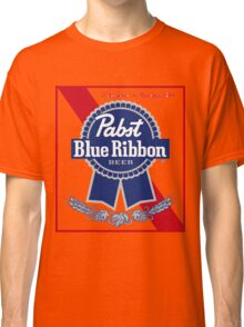 Pabst Blue Ribbon Beer PBR  Classic T-Shirt