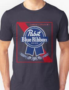 Pabst Blue Ribbon Beer PBR  Unisex T-Shirt