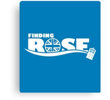 Finding Rose Canvas Print
