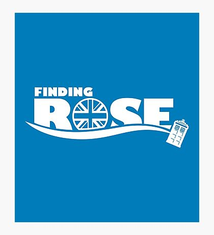Finding Rose Photographic Print