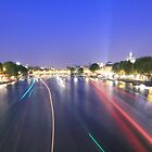 River Seine, Paris: Another highway of France by BBCsImagery
