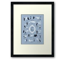 A Guide to Rare and Unusual Patronuses Framed Print