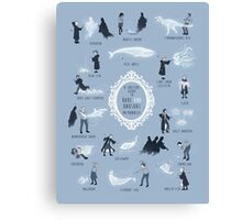 A Guide to Rare and Unusual Patronuses Canvas Print
