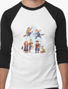 Mischievous Magical Merriment Men's Baseball ¾ T-Shirt