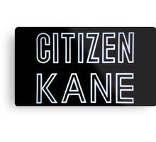 Citizen Kane  Metal Print