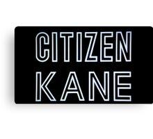 Citizen Kane Canvas Print