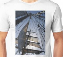 Lines, sheets, spars Unisex T-Shirt