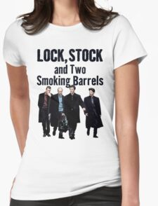 Lock, Stock and Two Smoking Barrels Womens Fitted T-Shirt