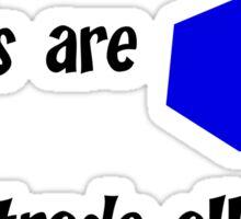 Catan Love Poem Sticker