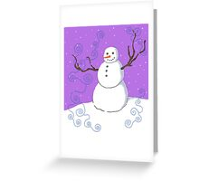 Mr. Frost Greeting Card