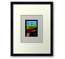 McDuck HUNT Framed Print