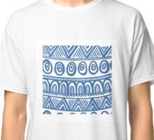 Blue Geo Classic T-Shirt