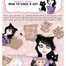 HERE'S HOW: HOW TO MAKE A CAT by ROUBLE RUST