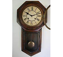 Victorian Wall clock Photographic Print