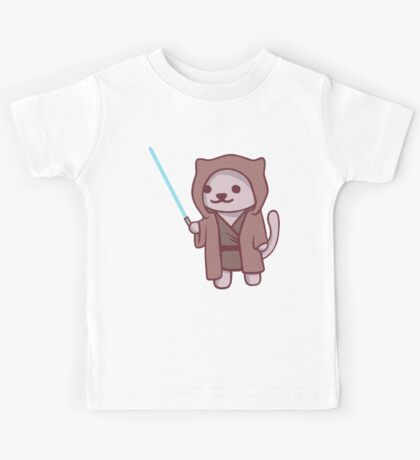 Neko atsume - Jedi cat Kids Tee