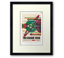 Grand Tour Space Travel Poster Framed Print