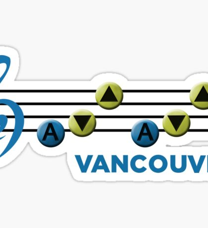 Vancouver Song of Storms (L) Sticker