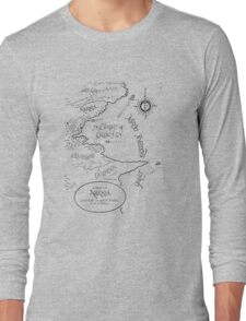 A MAP TO NARNIA Long Sleeve T-Shirt