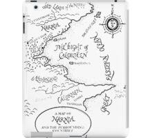 A MAP TO NARNIA iPad Case/Skin