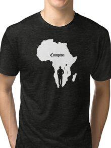 COMPTON/AFRICA Tri-blend T-Shirt