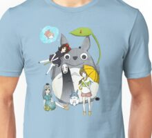 fammili collage ghibli Unisex T-Shirt