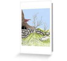 colorized Landscape Greeting Card