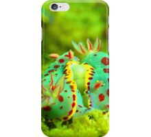 Clown Nuibranchs in the sea iPhone Case/Skin