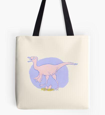 pretty pink dinosaur Tote Bag