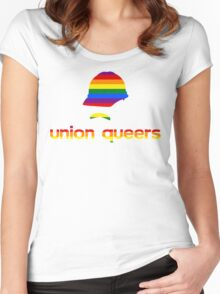 UNION QUEERS Women's Fitted Scoop T-Shirt